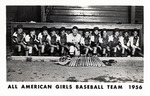 1956 - All American Girls Baseball Traveling Team by Jean Anna Faut