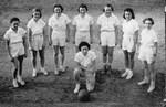 """1939 - Winthrop Freshman Basketball team Elizabeth """"Lib"""" Mahon manager by Elizabeth Mahon"""