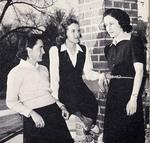 """1942 - Dorthy Humpreys, Rosa Smith, and Elizabeth """"Lib"""" Mahon by Elizabeth Mahon, Dorothy Humpreys, and Rosa Smith"""