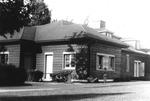 1943 - Early Club House at Kenosha, Wisconsin by Elizabeth Mahon
