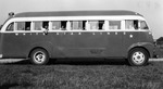 1946 - South Bend Blue Sox Team Bus by Elizabeth Mahon