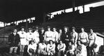 1946 - South Bend Blue Sox Team by Elizabeth Mahon