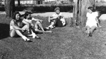 1946 - Jenny Romatowski, Senaida Wirth, Betty Luna, and DaisyJunor by Elizabeth Mahon, Jenny Romatowski, Senaida Wirth, Betty Luna, and Daisy Junor