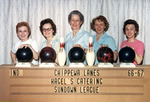 1966 Chippewa Lanes Sundown Bowling League by Elizabeth Mahon