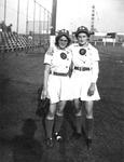 """1945 -  Pauline """"Pinky"""" Pirok, and Phyllis Koehn"""