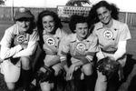 1944 - Phyllis Koehn, Rose Folder, Shirley Jameson and Audrey Wagner by Elizabeth Mahon, Phyllis Koehn, Rose Folder, Shirley Jameson, and Audrey Wagner