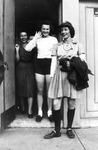"""1944 - Lex McCutchan, Ann Harnett and Elizabeth """"Lib"""" Mahon by Elizabeth Mahon, Lex McCutchan, and Ann Harnett"""