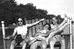 "1946 - Elizabeth ""Lib"" Mahon , Marie Kruckel, Lillian Luckey and Jean Faut by Elizabeth Mahon, Marie Kruckel, Lillian Luckey, and Jean Faut"