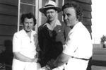 1944 - Lex McCutchan, Jim and Marie Timon. by Elizabeth Mahon, Lex McCutchan, Jim Timon, and Marie Timon