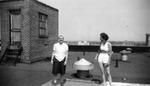 "1945 - Phyllis Koehn and Elizabeth ""Lib"" Mahon by Elizabeth Mahon and Phyllis Koehn"