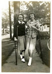 1940s, circa. - Dorothy Stolze and Nancy Warren by Jean Anna Faut, Dorothy Stolze, and Nancy Warren