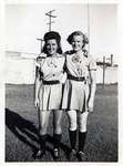 1940s, circa. - Ernestine Petras and Ruth Lessing by Jean Anna Faut, Ernestine Petras, and Ruth Lessing