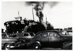 1940s, circa. - S.S. Badger Ferry From Ludington, MI to Milwaukee, WI by Jean Anna Faut