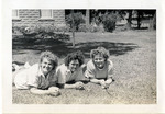 1940s, circa. - Helen Westerman, Lillian Luckey, and Mona Denton by Jean Anna Faut, Helen Westerman, Lillian Luckey, and Mona Denton