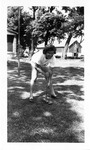 1946 - Inez Voyce Playing Croquet by Jean Anna Faut and Inez Ferne Voyce