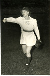 1940's circa - Jean Faut Pitching by Jean Anna Faut and South Bend Blue Sox