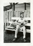 1940's circa - Jean Faut Resting by Jean Anna Faut and South Bend Blue Sox