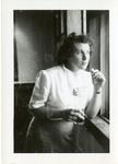 1946 - Jeanette Stocker Looking Out of a Window by Jeanette Stocker Bottazzi