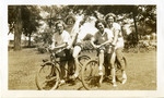 1946 - Bike Riding by Jean Anna Faut, Amy Shuman, Lillian Luckey, and Joyce Hill Westerman