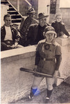 1949 circa - Jean Faut with Husband and Son by Jean Anna Faut, Karl Winsch, and Larry Winsch