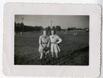 1946 - Jean Faut and Dottie Naum by Jean Anna Faut and Dorothy (Dottie) Naum Parker