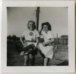 """1940's, circa - Jean Faut and Senaida """"Shu Shu"""" Wirth by Jean Anna Faut and Senaida Wirth Mylott"""