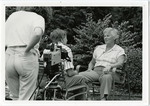 2000's, circa - Jean Faut is Interviewed for Documentary on AAGPBL by Jean Anna Faut