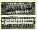1949 7/3-4 - Chicago Colleens - Springfield Sallies by Sue Kidd, Springfield Sallies, and Chicago Colleens