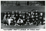 """Old-Timers"" from ""A League of Their Own"" by Sue Kidd, All American Girls Professional Baseball League, and A League of Their Own"