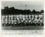 1951 South Bend Blue Sox by sue Kidd