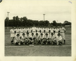 1952 South Bend Blue Sox Team Photograph by Sue Kidd