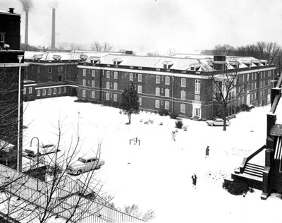 Breazeale Hall in Snow not dated