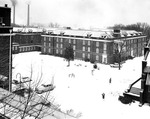 Breazeale Hall in Snow not dated by Clarence H. and Anna E. Lutz Foundation and Louise Pettus Archives and Special Collections