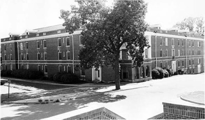 Breazeale Hall September 1976