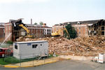Breazeale Hall Demolition Summer 2004 by Clarence H. and Anna E. Lutz Foundation and Louise Pettus Archives and Special Collections