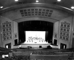 View from the Balcony, Byrnes Auditorium 1950 by Clarence H. and Anna E. Lutz Foundation and Louise Pettus Archives and Special Collections