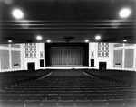 Interior, Byrnes Auditorium not dated by Clarence H. and Anna E. Lutz Foundation and Louise Pettus Archives and Special Collections