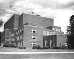 Byrnes Auditorium and the Conservatory of Music April 1975