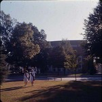 Marshals in Front of Byrnes Auditorium, late 1960s by Clarence H. and Anna E. Lutz Foundation and Louise Pettus Archives and Special Collections