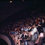 Students in Byrnes Auditorium, late 1960s by Clarence H. and Anna E. Lutz Foundation and Louise Pettus Archives and Special Collections