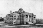 Drawing of Carnegie Library 1905 by Clarence H. and Anna E. Lutz Foundation and Louise Pettus Archives and Special Collections