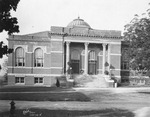 Carnegie Library ca. 1920s by Clarence H. and Anna E. Lutz Foundation and Louise Pettus Archives and Special Collections