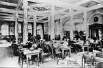 Interior of Carnegie Library ca. 1910
