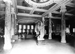 Lobby of Carnegie Library ca. 1930s by Clarence H. and Anna E. Lutz Foundation and Louise Pettus Archives and Special Collections
