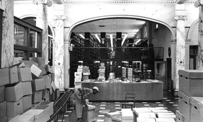 Carnegie Library Moving Day 1969