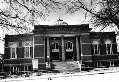Rutledge Hall Renovations ca. 1989