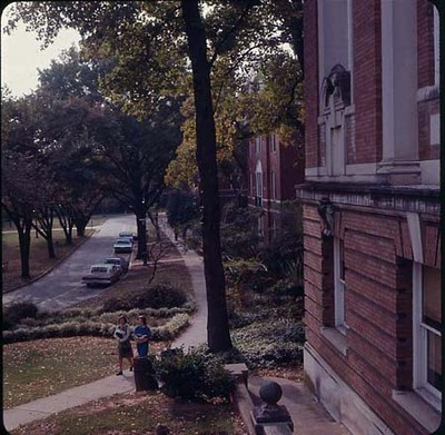 Carnegie Library Exterior, late 1960s