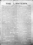 The Lantern, Chester S.C.- August 23, 1901
