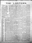 The Lantern, Chester S.C.- September 10, 1901