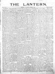 The Lantern, Chester S.C.- October 22, 1901